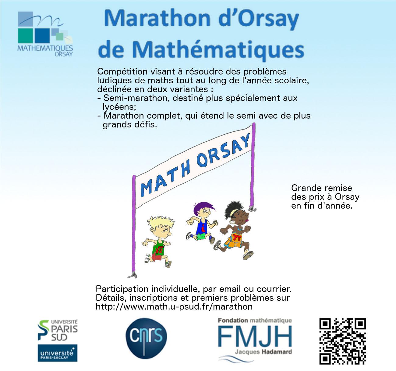 Marathon d'Orsay de Mathématiques