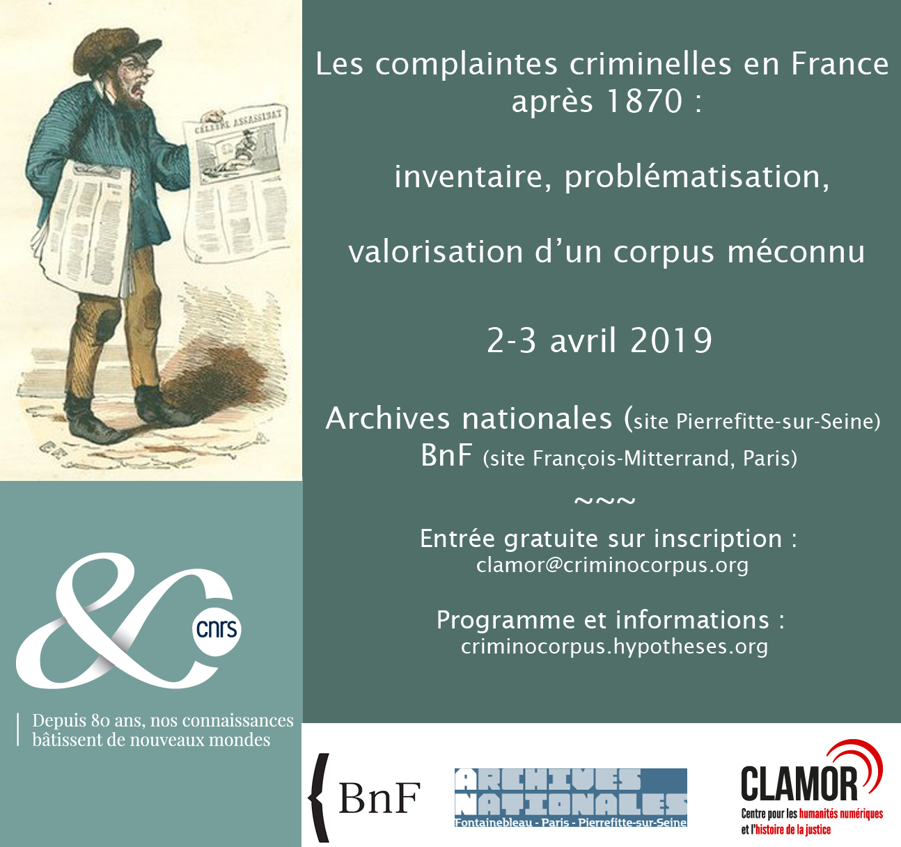 Les complaintes criminelles en France après 1870