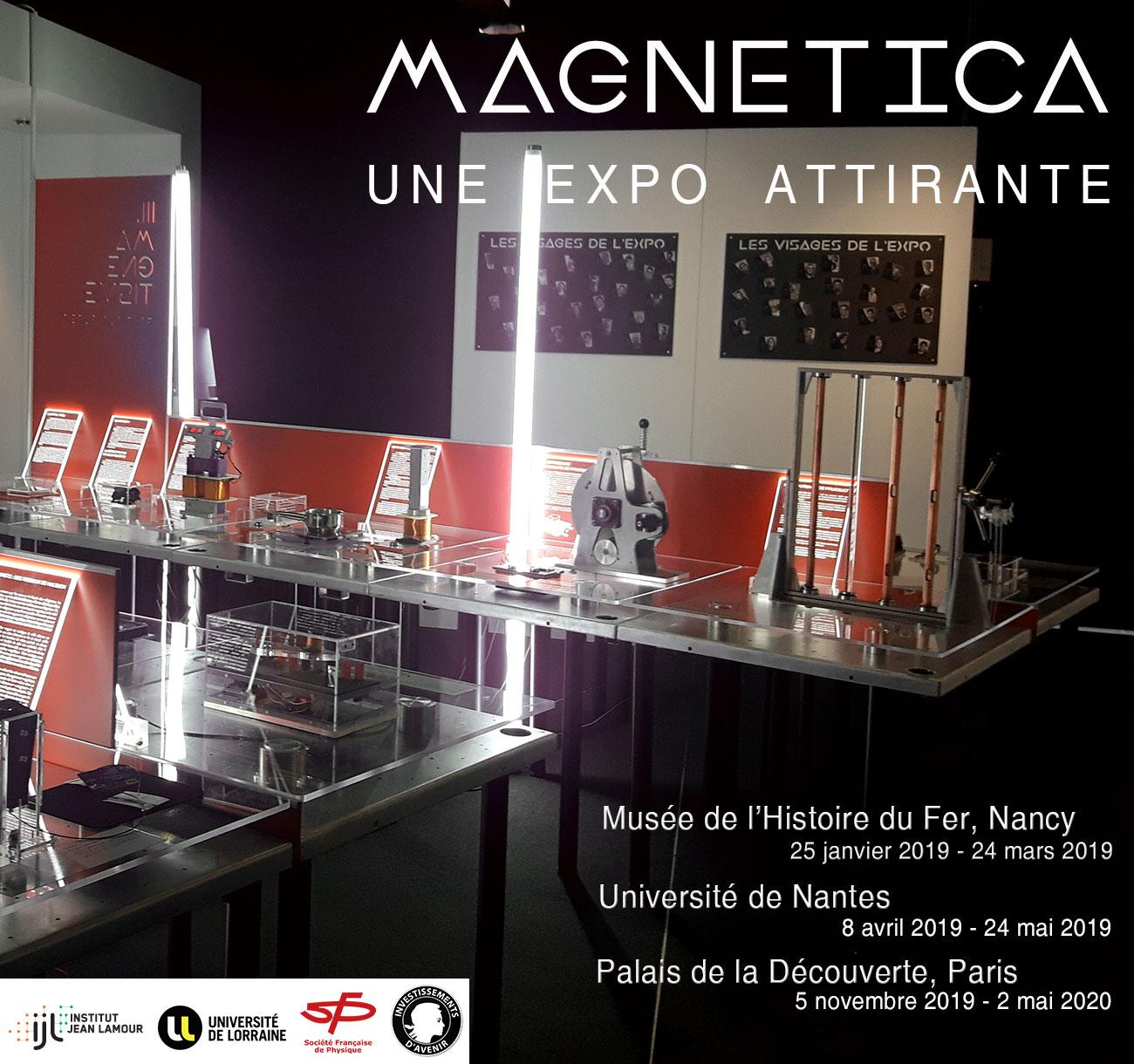 MAGNETICA, une expo attirante