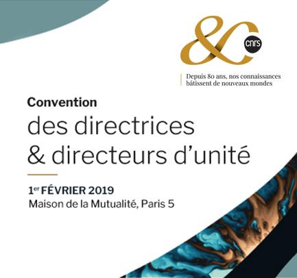 Convention des directrices et directeurs des laboratoires du CNRS et de ses partenaires