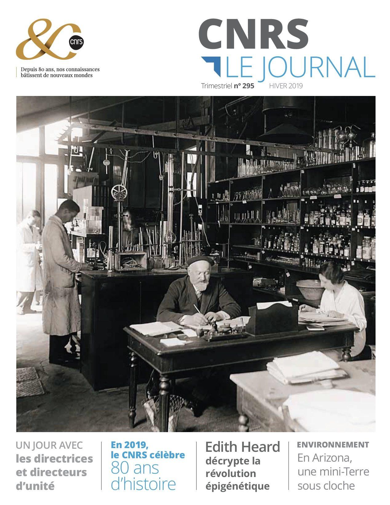 CNRS Le journal hiver 2019