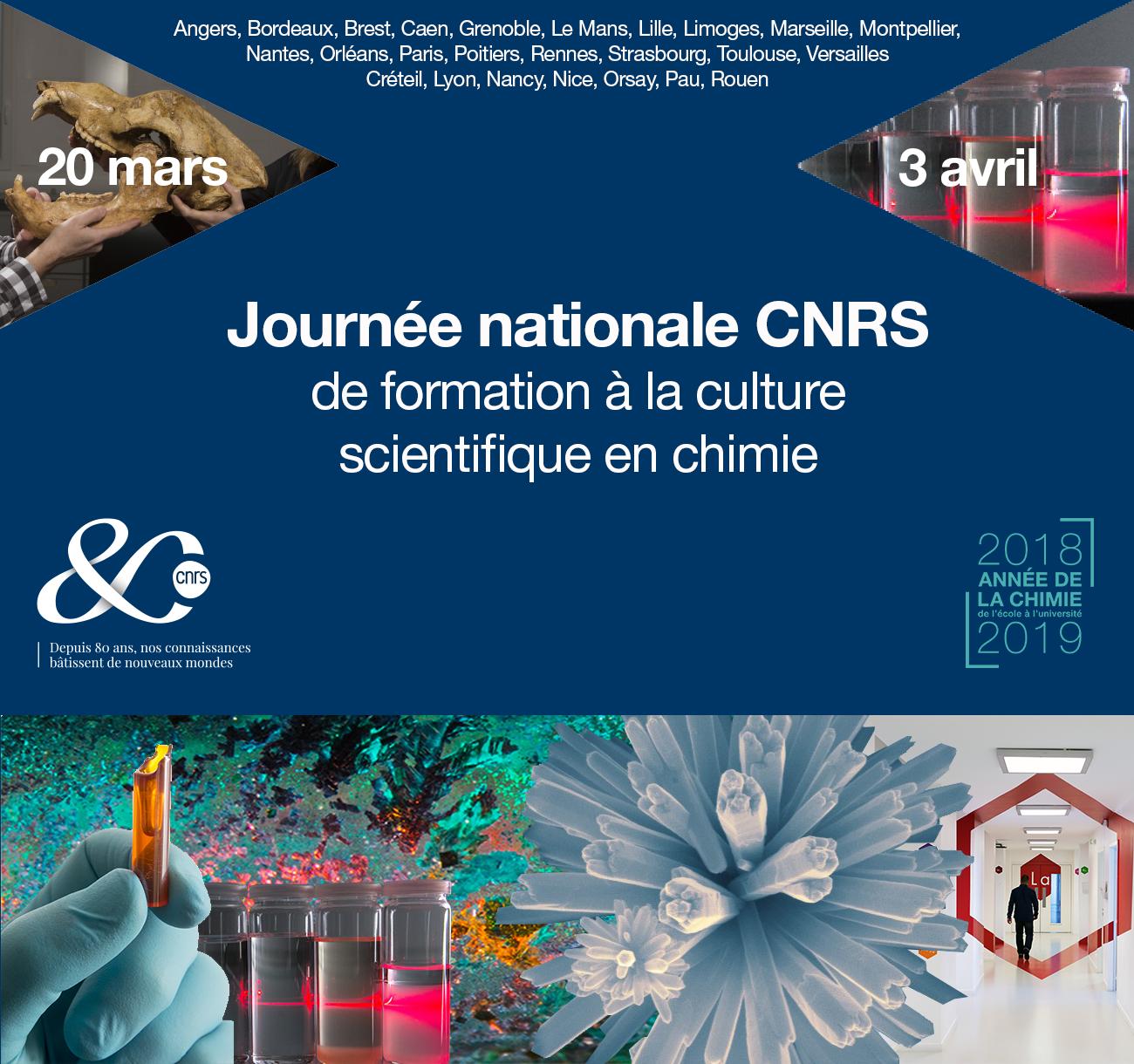 Journées nationales de formation à la culture scientifique en chimie à Nancy