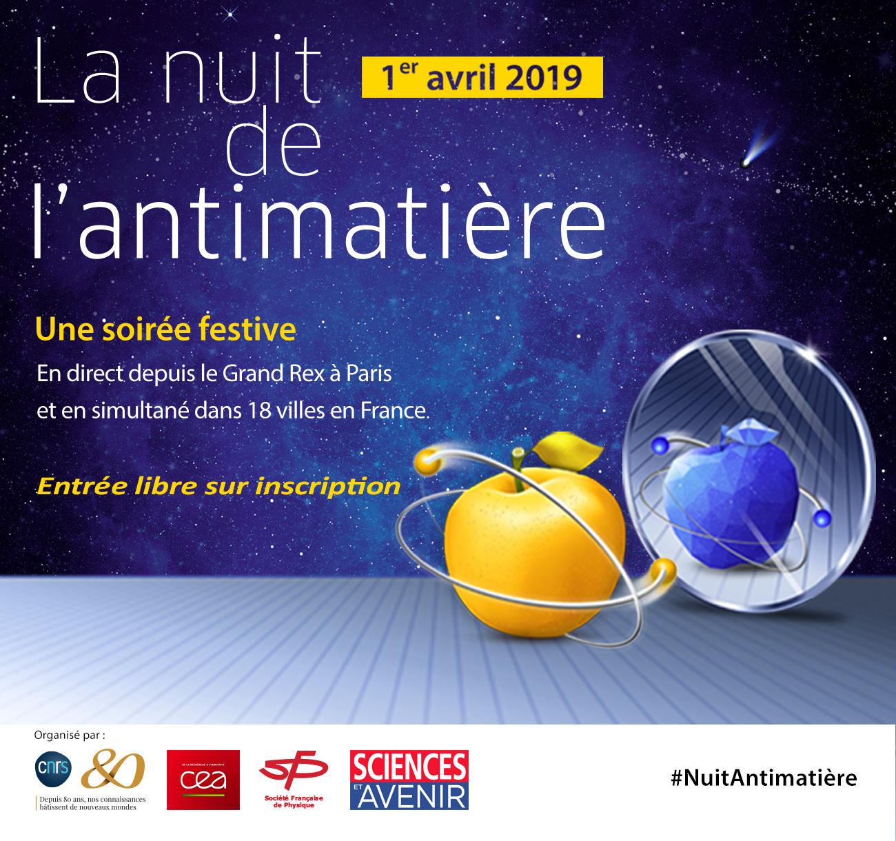 La Nuit de l'Antimatière à Caen