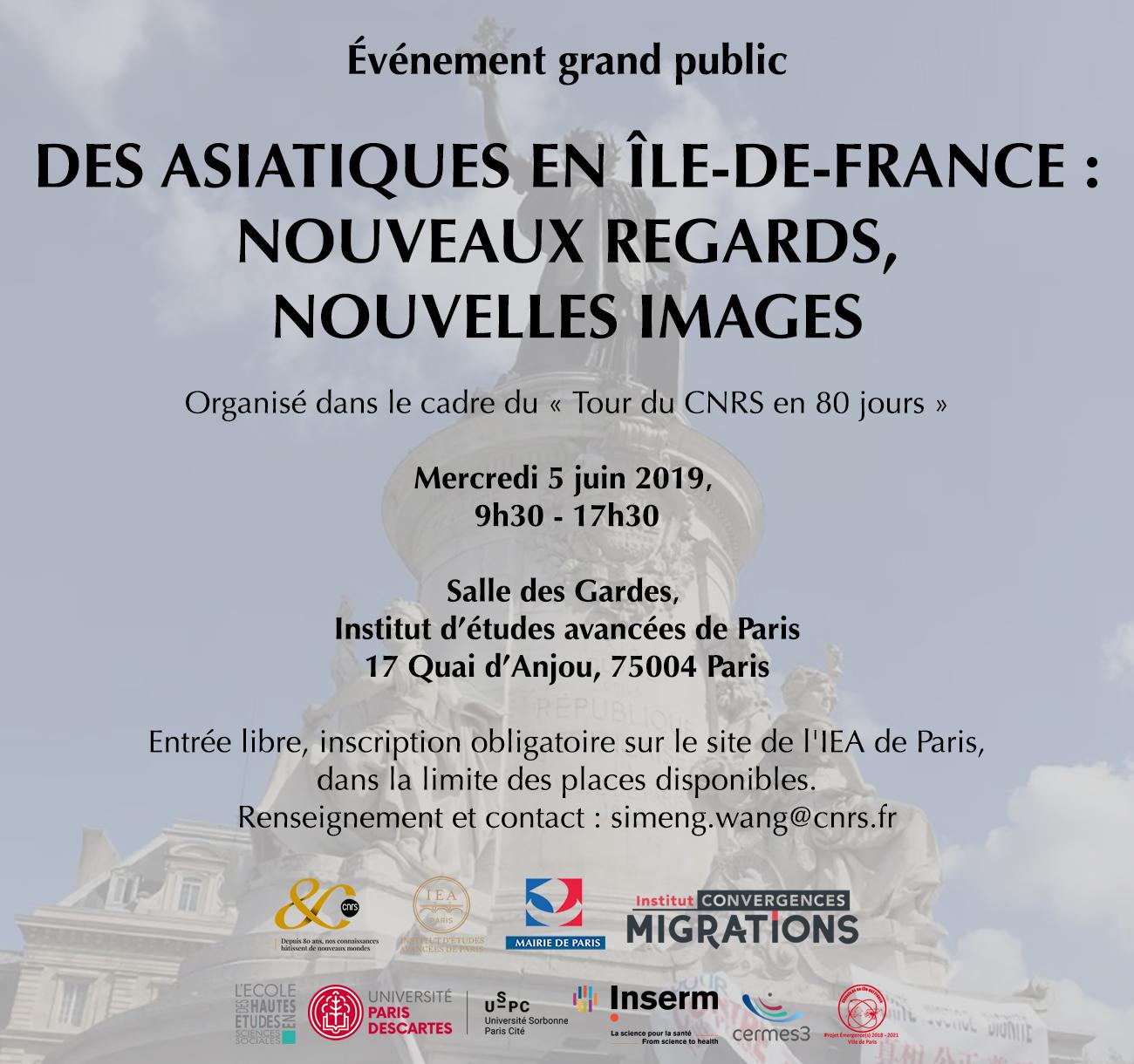 Des asiatiques en Île-de-France : nouveaux regards, nouvelles images