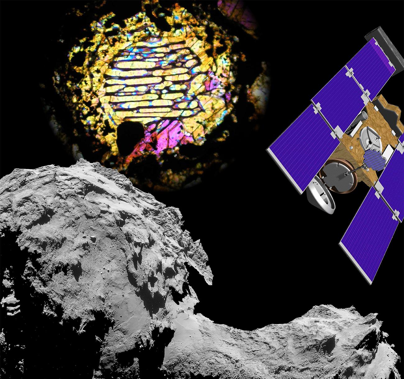 Météorites et missions spatiales