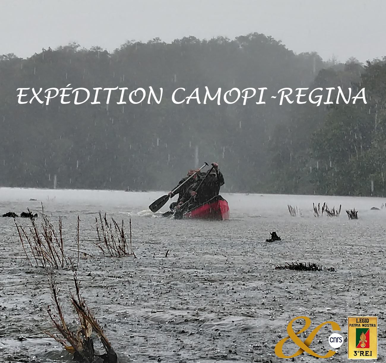 Expédition Camopi-Regina