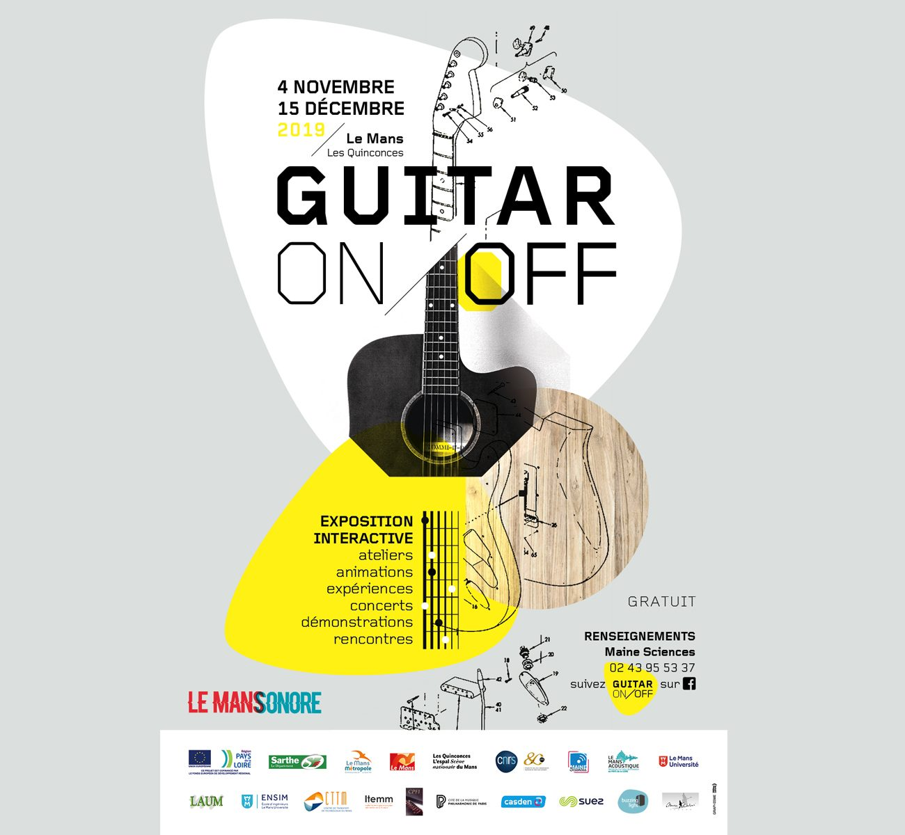 Guitar On/Off
