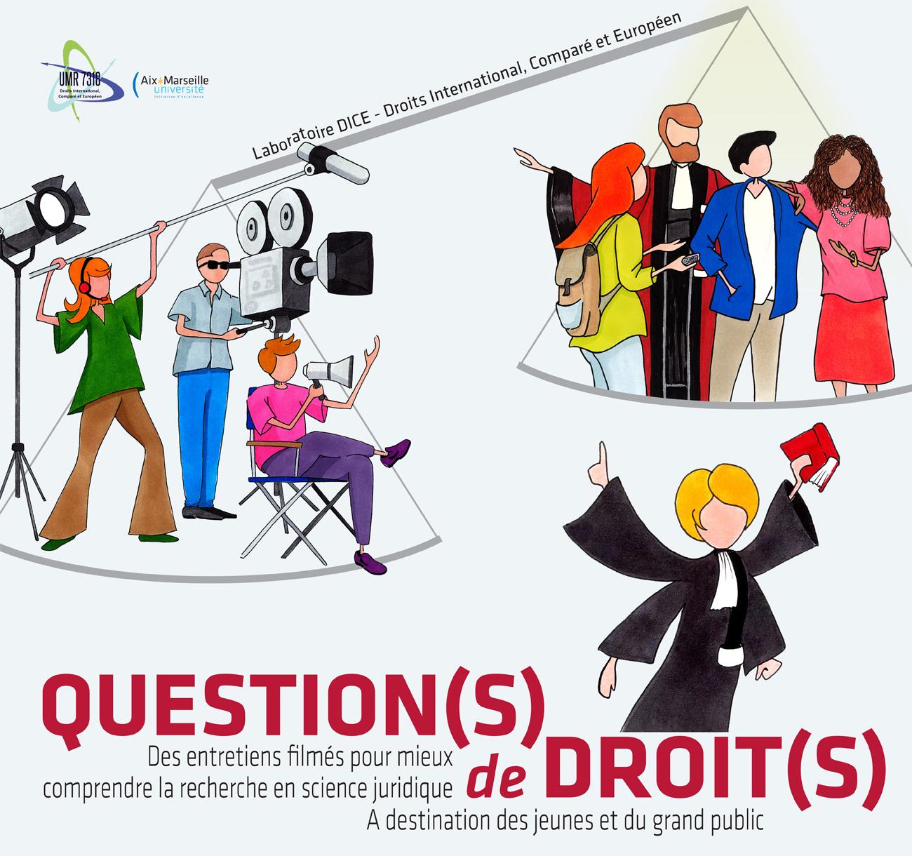Question(s) de droit(s) un film pour les jeunes et le grand public