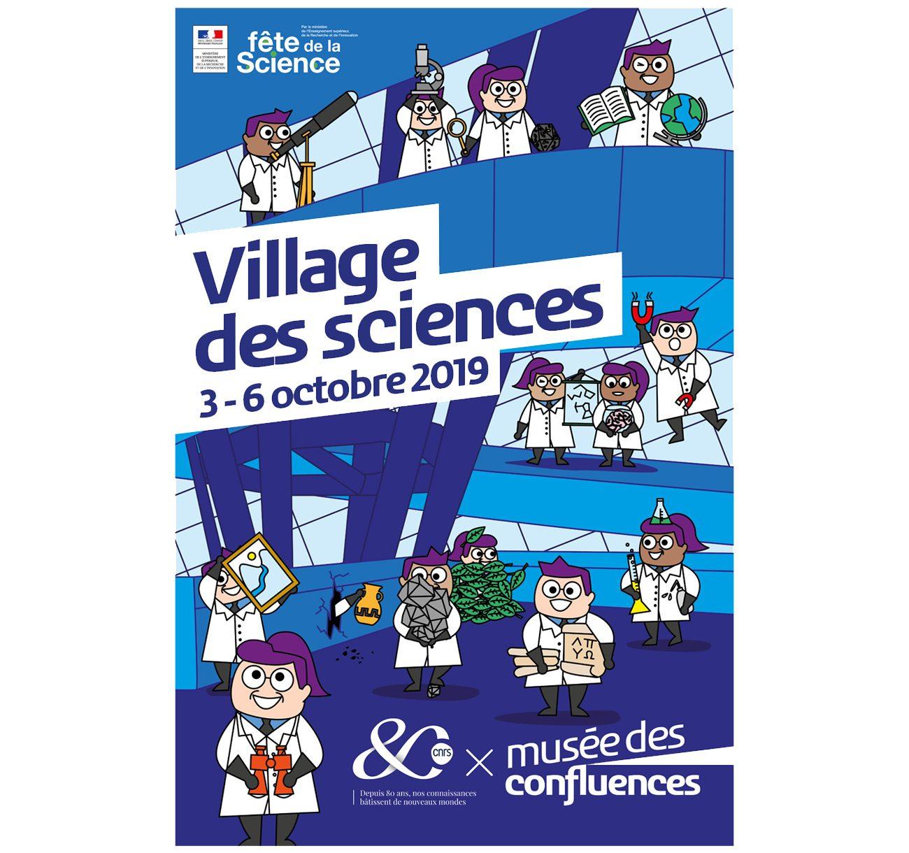 Village des sciences : le musée des Confluences invite le CNRS