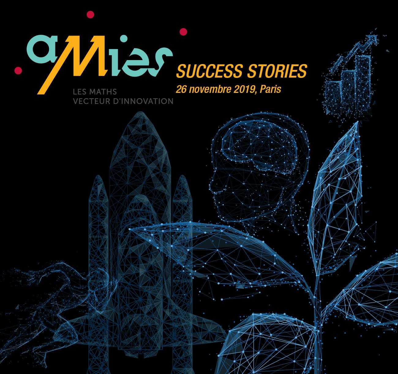 AMIES : Vecteur d'Innovation mathématique-entreprises, histoires de collaborations réussies
