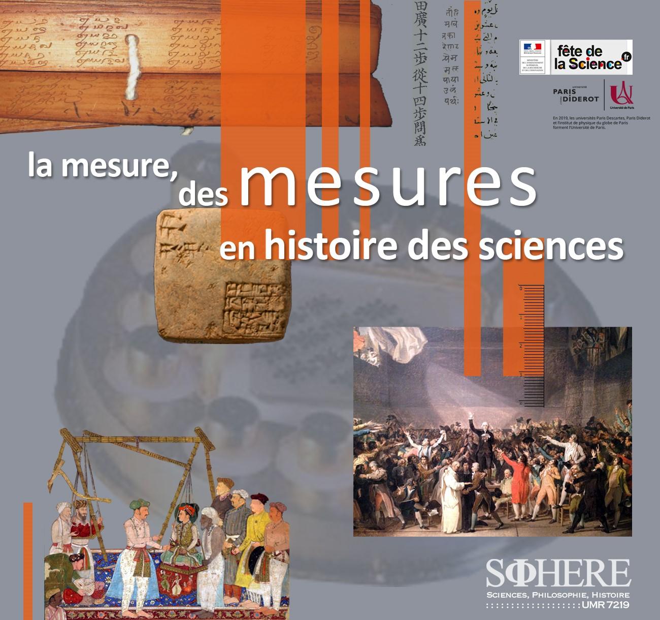 La mesure, des mesures en histoire des sciences
