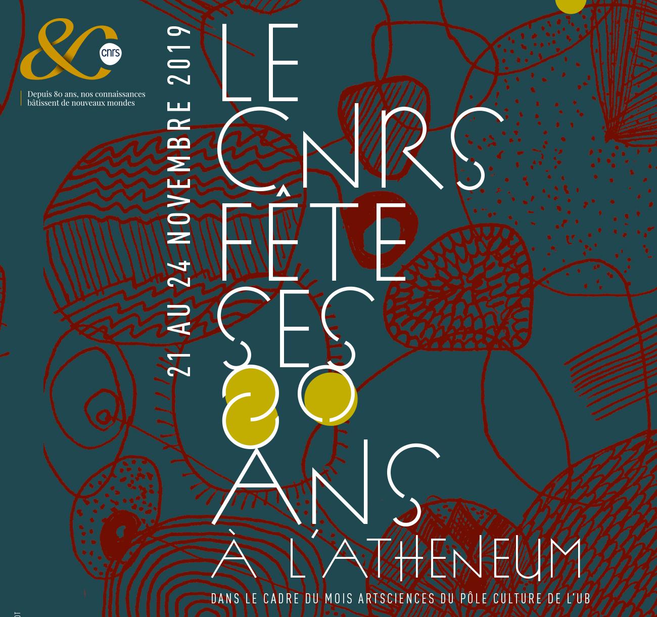 Le CNRS fête ses 80 ans à l'Athéneum